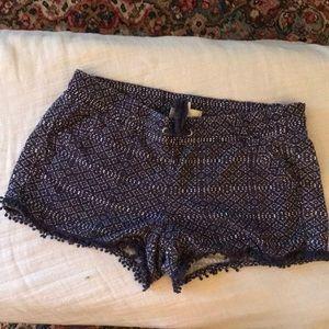 Rewind Cotton Shorts